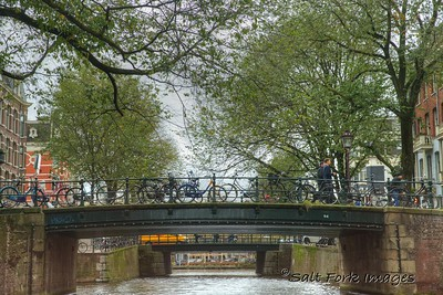 Amsterdam, The Netherlands - Along the canals