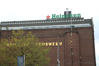 Amsterdam, The Netherlands - Home of Heineken Beer - apparently NOT the preferred beer of locals.