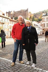 Ron and Debbie in Heidelberg