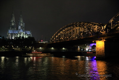 Cologne Cathedral from the Rhine River