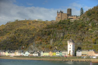 Along the Rhine Rive in Germany