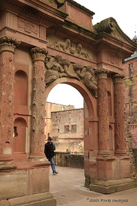 Elisabeth Gate - 1615 - Heidelberg Castle