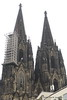 Cologne Cathedral - 515 feet tall and it took 613 years to build.