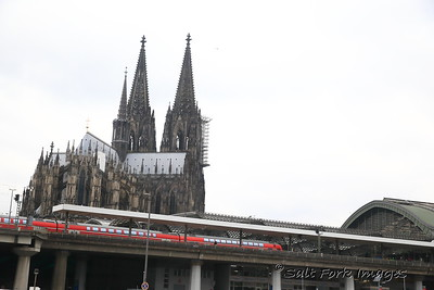 Train station and Cathedral - Cologne, Germany