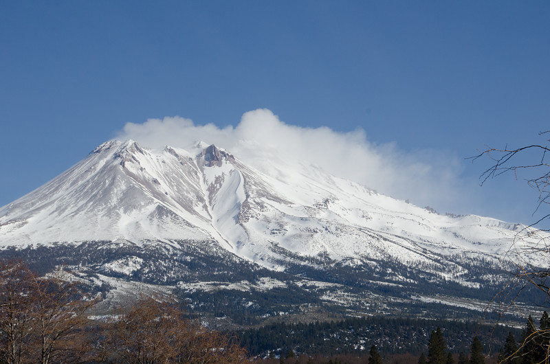 Mount Shasta on Weed