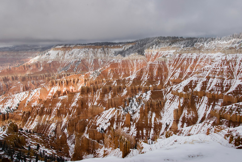 View from the Cedar Breaks visitors center. What a view!