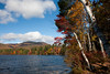 Mount Chocorua looms in the background of a Chocorua Lake within the White Mountain National Forest. (2009NE-1738)
