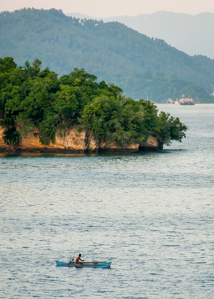 Local fisherman, Lembeh Strait