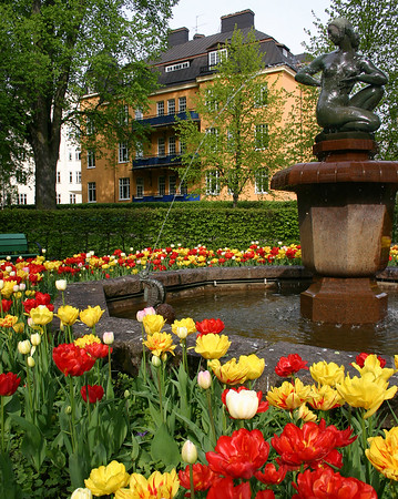 Linkoping fountain