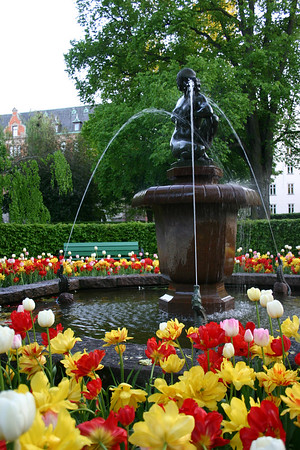 Linkoping Fountain 3