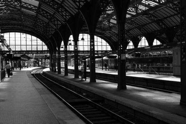 Copenhagen, Denmark Central Railway Station