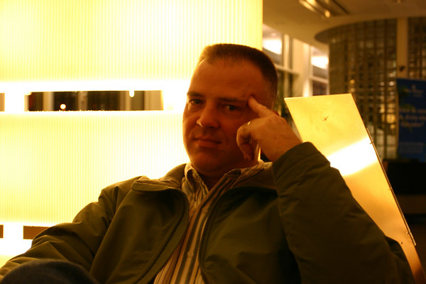 This is me - very tired - after a long day of Crash Testing at VTI in Linkoping, Sweden.