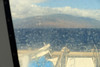 Headed back to Maui with a stiff wind and a little sea spray.