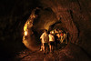 It's more than a little bit creepy inside a lava tube.