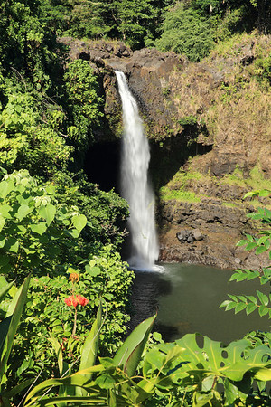 Rainbow Falls on the Big Island