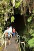 Down into the lava tube!