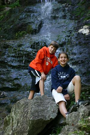 March Cataract Falls near Mt. Greylock in Western Massachusetts