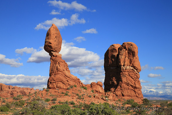Balanced Rock near Moab, UT - Arches National Park