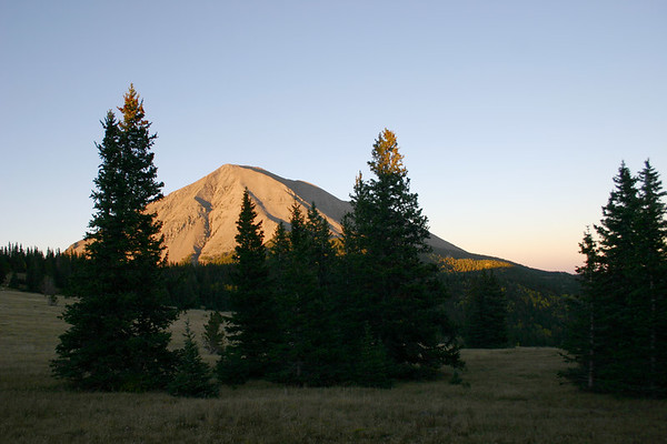 West Peak from Cordova