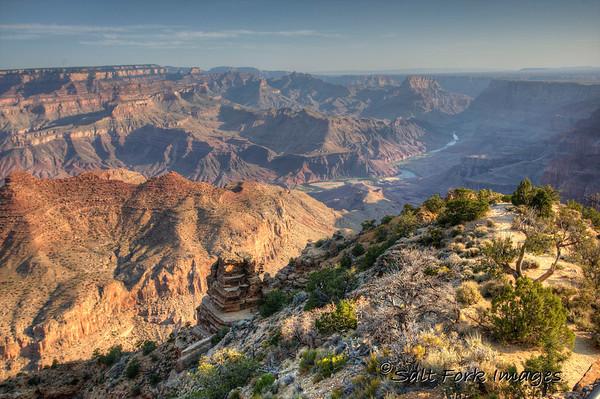 Desert Overlook in Grand Canyon National Park, Arizona