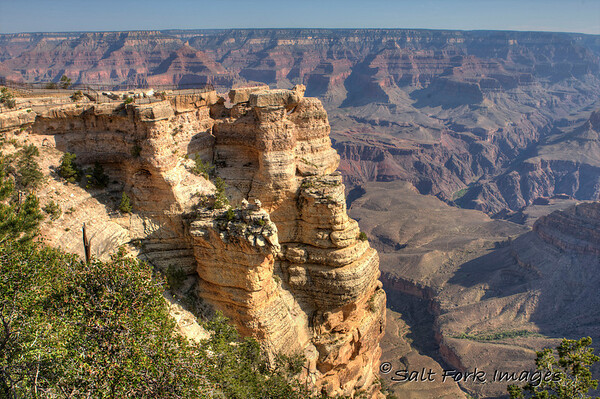 Mather Point Overlook - Grand Canyon