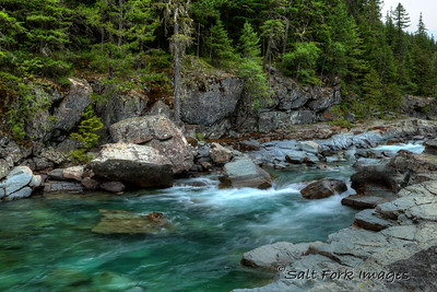 Glacier National Park, Montana - McDonald Creek