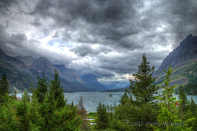 St. Mary Lake and Wild Goose Island - Glacier National Park, Montana