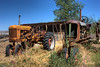 These tractors watch over the old Norton homeplace in Levan, Utah.