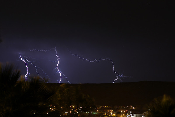 More lightning in St. George, Utah.