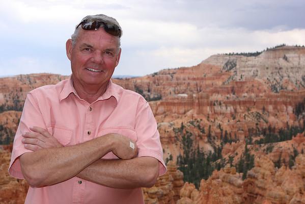 My friend, Chuck, at Bryce Canyon National Park, Utah.
