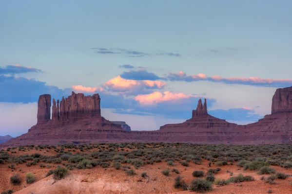 I think I like this shot the best.  Monument Valley.  Arizona / Utah border.  Navajo Reservation.