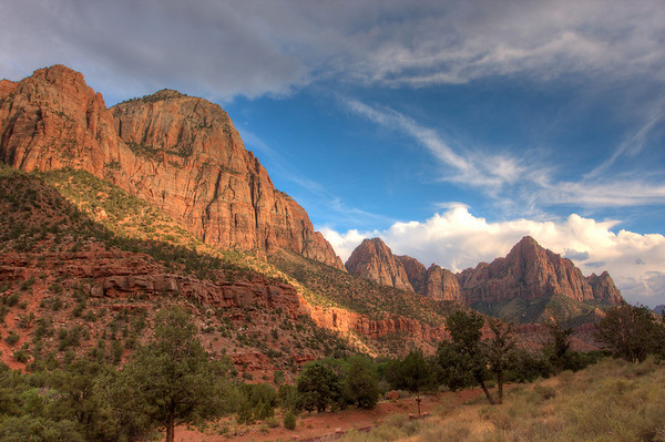 Near Canyon Junction, Zion National Park, Utah.