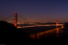 View from Marin Headlands at twilight  SF08688