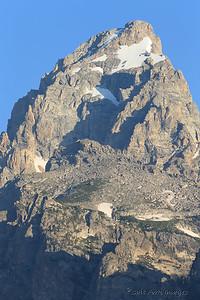 Grand Teton - 13,770 feet - Wyoming's second highest peak - Jackson Hole