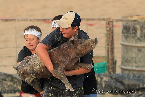 If you're going to wrestle pigs, it helps to have a big boy on your team.