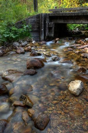 Teton Creek - Teton Canyon - Wyoming