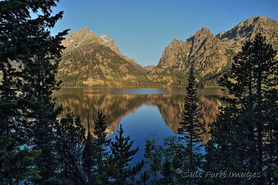 Cascade Canyon and Jenny Lake - Grand Teton National Park - Wyoming