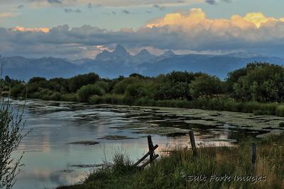 Teton River near Driggs, Idaho