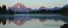 Mt. Moran at sunrise on a bluebird day - Grand Teton National Park - Wyoming