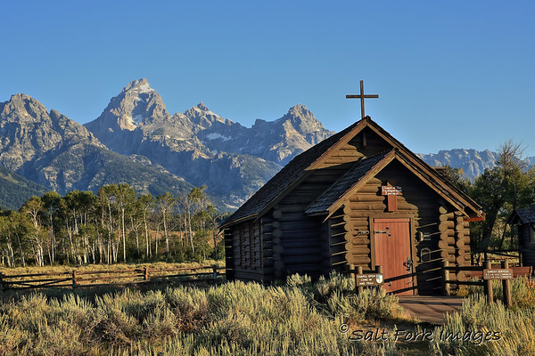Chapel of the Transfiguration - Grand Teton National Park, Wyoming