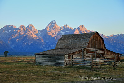 Moulton Barn - Grand Teton National Park, Wyoming