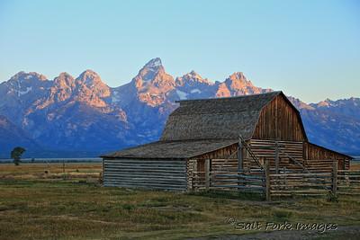 Moulton Barn - Grand Teton National Park, Wyoming