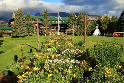 The Garden at Glacier Park Lodge - East Glacier, Montana