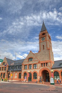 Built in 1887, the Union Pacific Depot helped establish Cheyenne, Wyoming as a major stop on the Transcontinental Railroad.