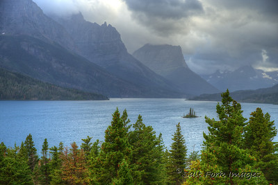 St. Mary Lake - Glacier National Park - Montana