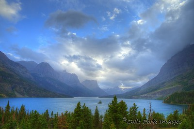 Saint Mary Lake - Glacier National Park - Montana