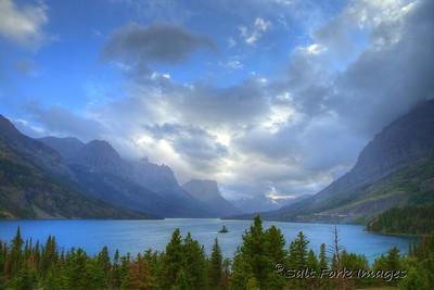Saint Mary Lake - Glacier National Park - Montana