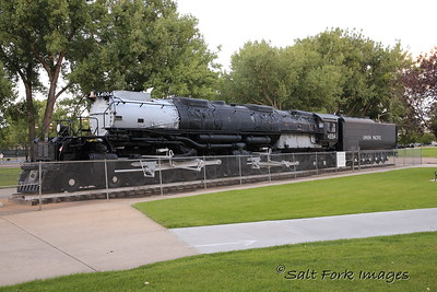 "Union Pacific 4004 ""Big Boy"" was the last of the great coal-fired steam locomotives."
