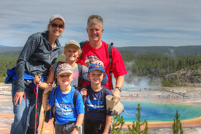 We met this very sweet family from TEXAS in Yellowstone