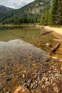 Phelps Lake in Grand Teton National Park, Wyoming.